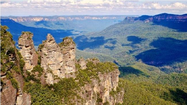 Dãy núi Blue - Du lịch Úc