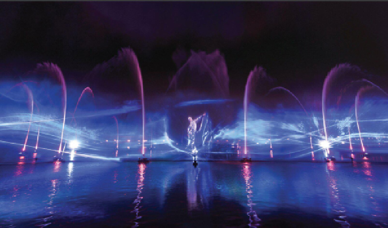 Đầm Sen miễn vé cổng dịp công chiếu chương trình Laser Show