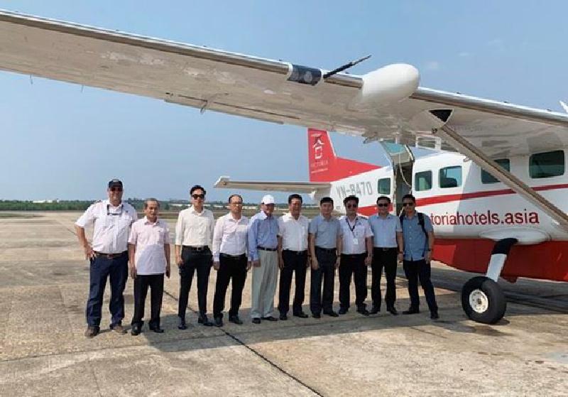 Sắp có đường bay Đồng Hới-Đà Nẵng và dịch vụ bay ngắm cảnh ở Quảng Bình