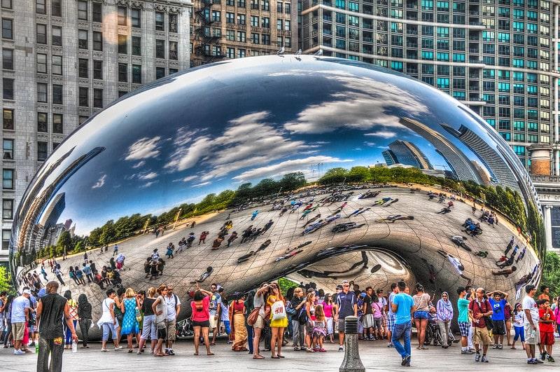 Công trình nghệ thuật độc đáo ở Chicago