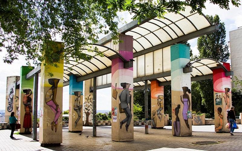Thủ đô Pari, Pháp là một trong những thành phố nghệ thuật ấn tượng nhất thế giới