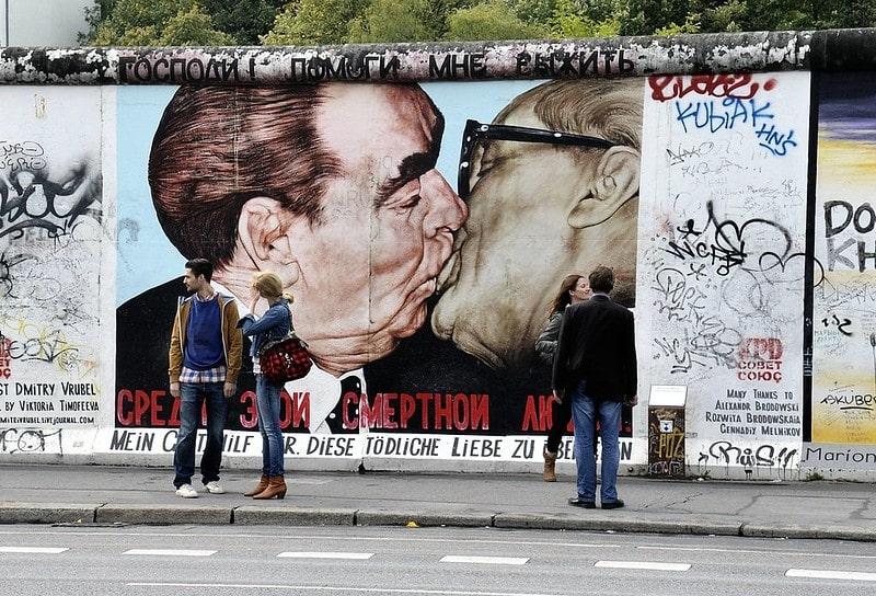 Berlin, Đức có nghệ thuật đường phố rất phát triển