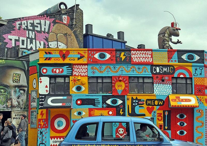 Phòng trưng bày nghệ thuật ở Anh