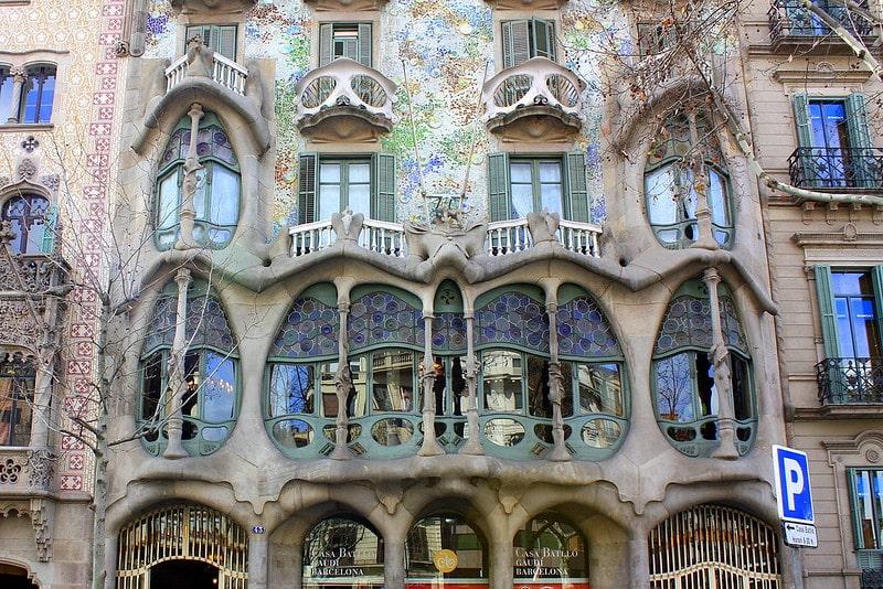 Nghệ thuật ấn tượng ở Tây Ban Nha