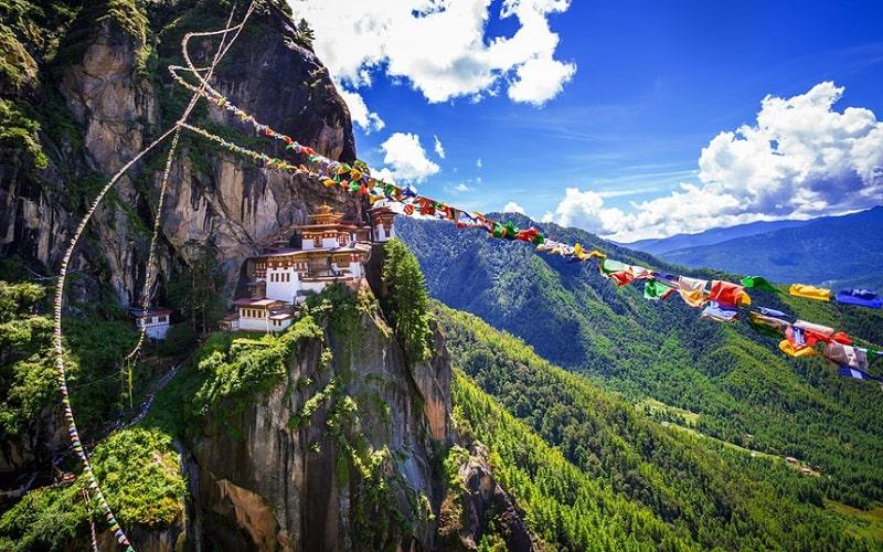 Bhutan là quốc gia có độ cao địa hình