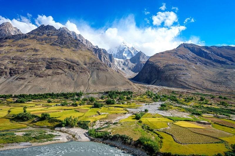 Afghanistan có khoảng 75% địa hình là miền núi