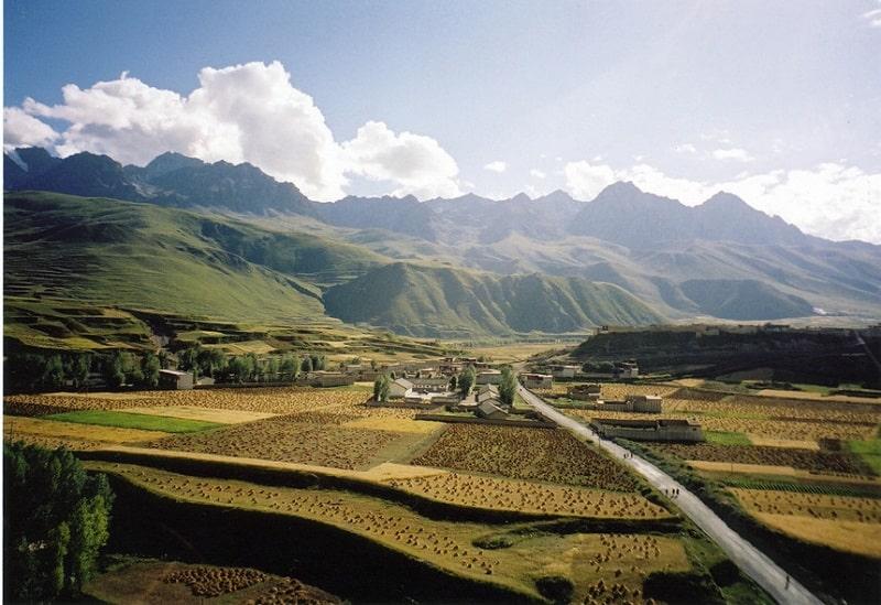 """Cao nguyên Tây Tạng được coi là một trong những """"mái nhà của thế giới"""""""