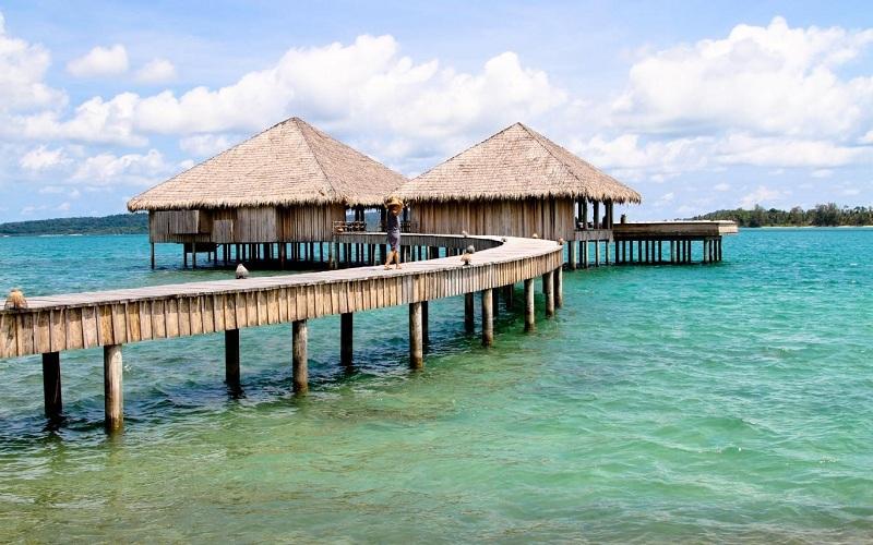Vẻ đẹp của thành phố biển Kep ở Campuchia