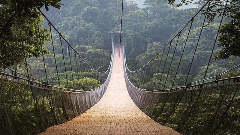 Bạn biết cầu treo lớn nhất Đông Nam Á ở đâu chưa?