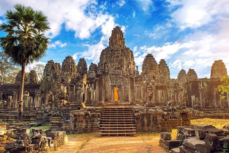 Campuchia ghi nhận lượng du khách tăng mạnh từ đâu?