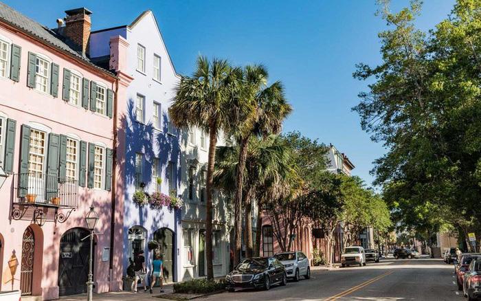 """Charleston là thành phố duy nhất của Mỹ đạt giải """"Á quân"""""""