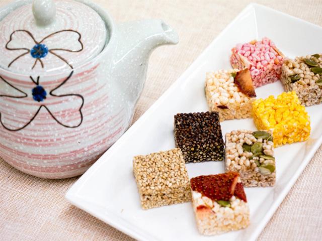 Kẹo Gangieong thu hút thực khách ngay từ cái nhìn đầu tiên