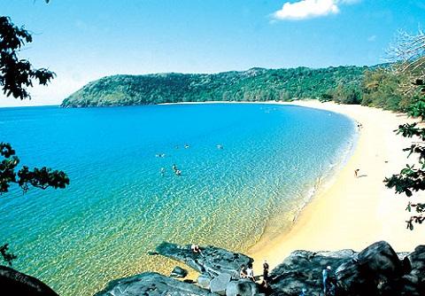 Bãi Đầm Trầu – Côn Đảo với vẻ đẹp hoang sơ