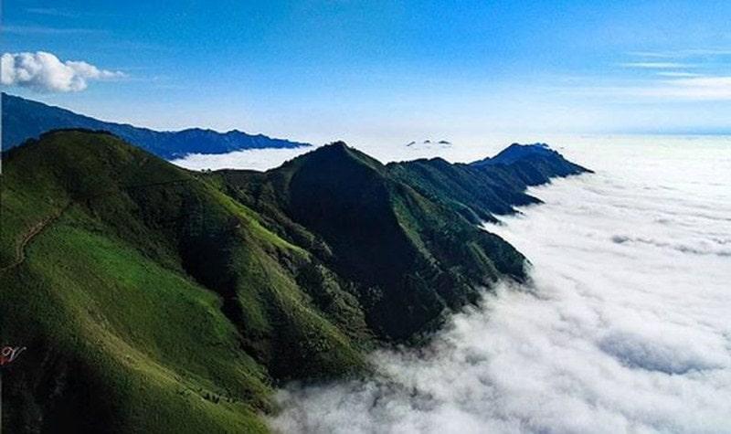 Vẻ đẹp của núi rừng Sơn La những ngày cuối năm