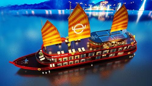 Hình ảnh đầu tiên của du thuyền 5 sao cao cấp Emperor Cruises