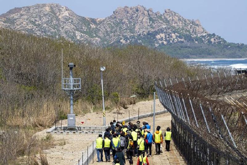 """Hàn Quốc mở thêm một cung đường mới thuộc """"Con đường hòa bình DMZ"""""""