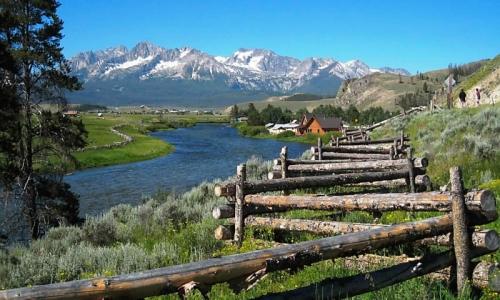 Về với thiên nhiên ở Idaho