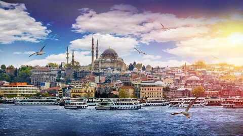 Istanbuk (Thổ Nhĩ Kỳ) xếp vị trí thứ 9