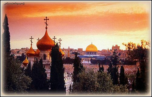 Chu du về vùng đất thiêng Jerusalem cổ kính