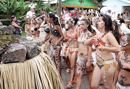 Lễ hội Tapati ở Chile