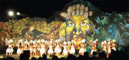 Lễ hội Tapati ở Chile2.