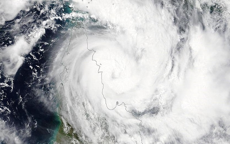 Siêu bão Trevor sắp đổ bộ nước Úc lần 2
