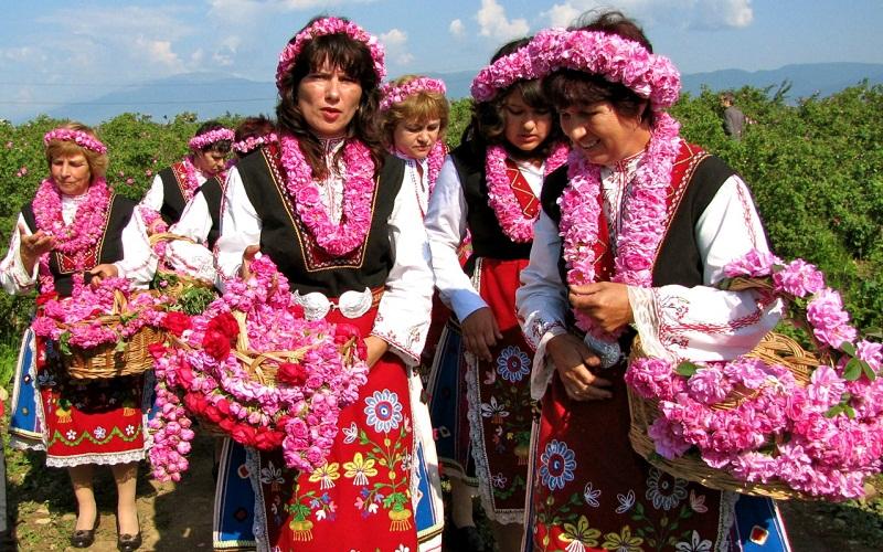 Ngẩn ngơ với lễ hội hoa hồng tràn ngập sắc hương tại Maroc