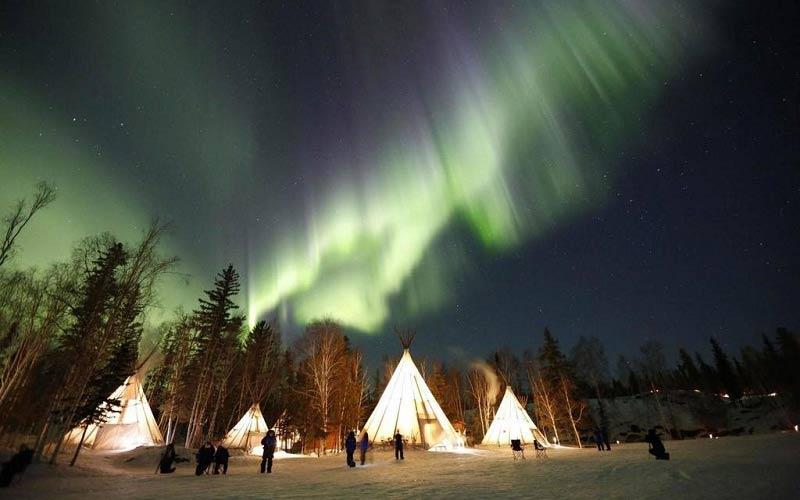 Bí mật cực quang ở vùng lãnh thổ Tây Bắc Canada