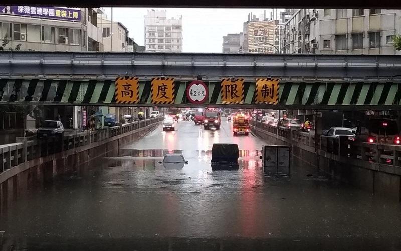 Mưa lũ giảm, thời tiết Đài Loan dần khả quan