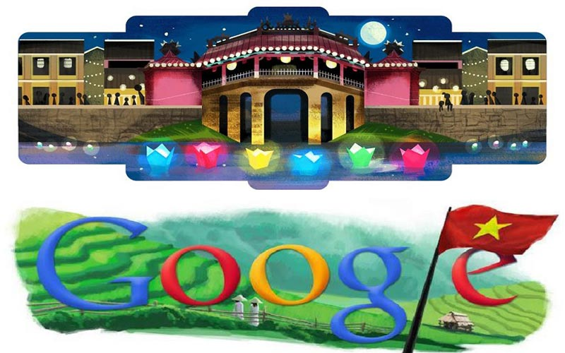 Điểm lại loạt biểu tượng văn hóa Việt Nam từng được Google Doodle vinh danh