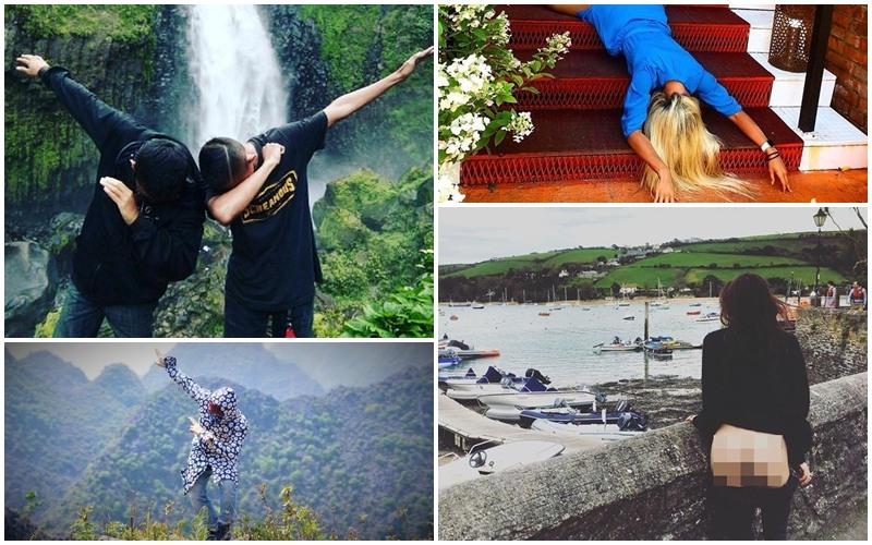 """Những trào lưu chụp ảnh """"khó đỡ"""" khi đi du lịch của giới trẻ"""