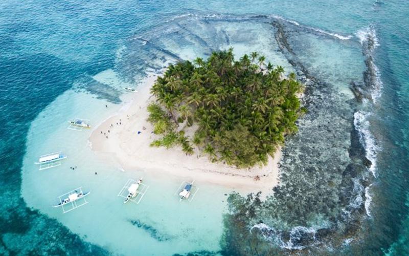 """Mê hoặc đảo """"giọt lệ"""" đẹp nhất thế giới tại Philippines"""