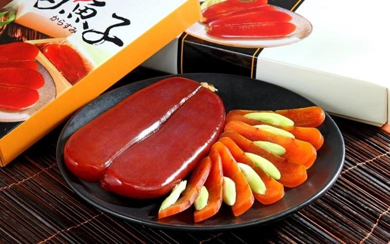 Trứng cá đối món ăn mỹ thực xa xỉ vang danh của Đài Loan