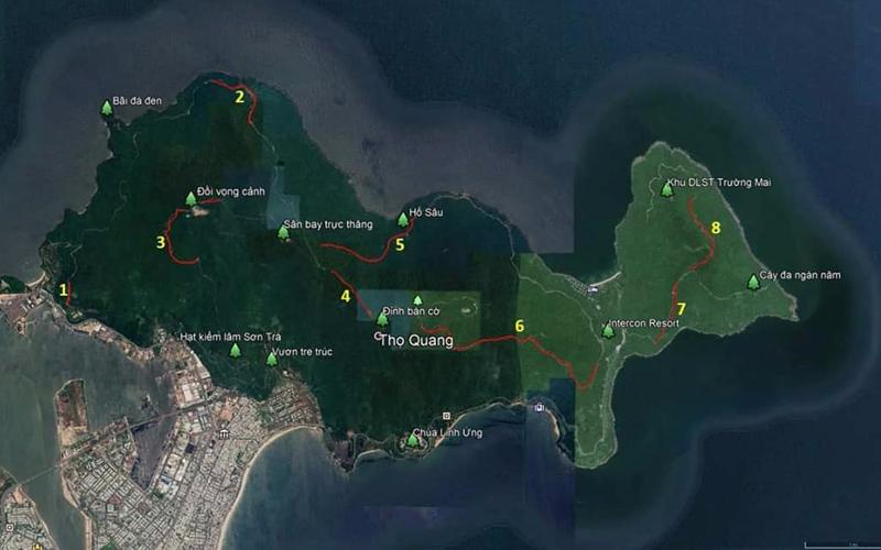 Cảnh báo 8 con dốc nguy hiểm nhất trên bán đảo Sơn Trà
