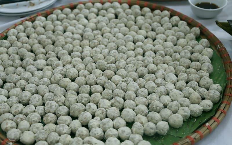 Bánh pẻng phạ - món đặc sản dân dã của người Tày