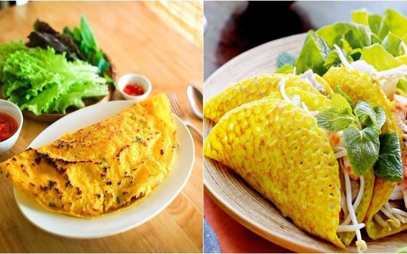 Ra Bắc vào Nam, khám phá món bánh xèo đặc trưng của Việt Nam