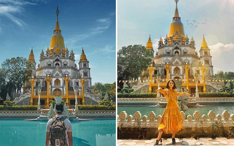Điên đảo với 4 ngôi chùa đẹp như tranh