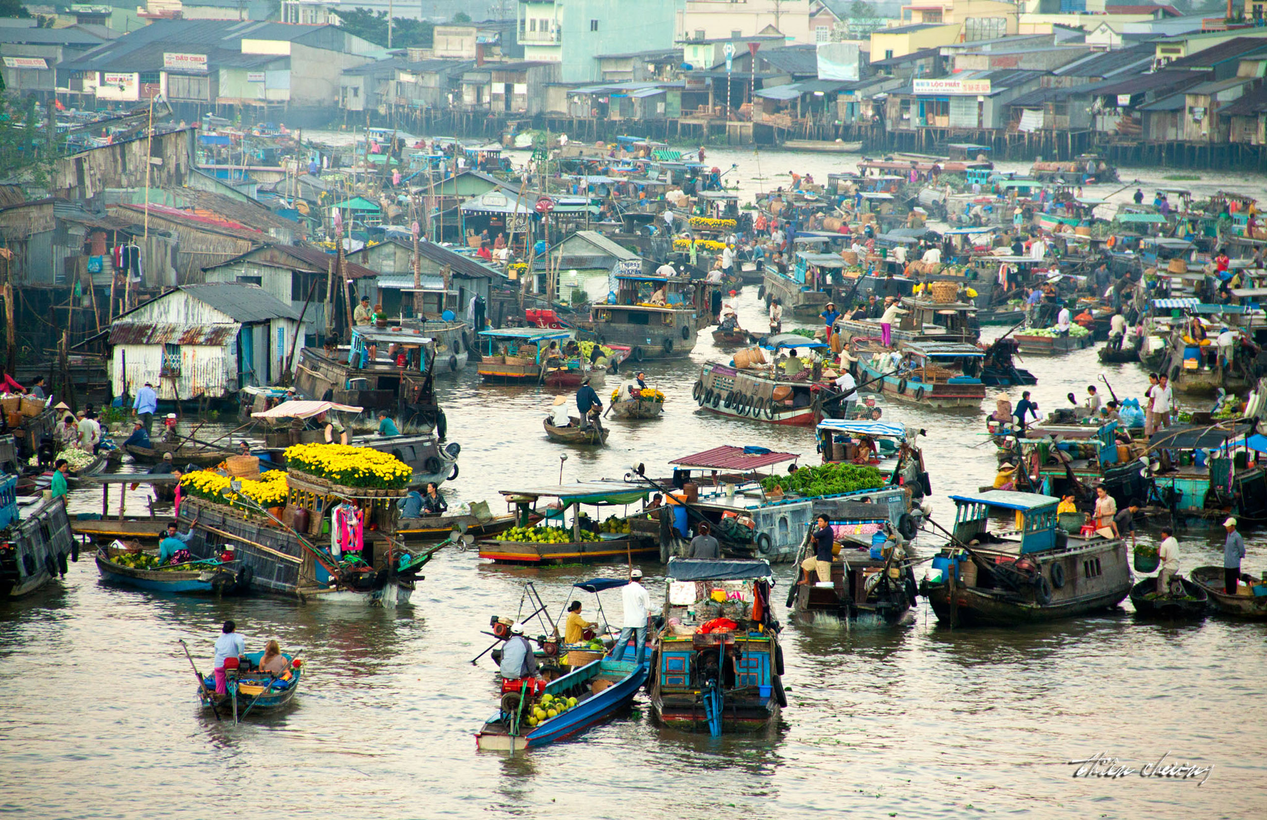 4 khu chợ ấn tượng nhất châu Á