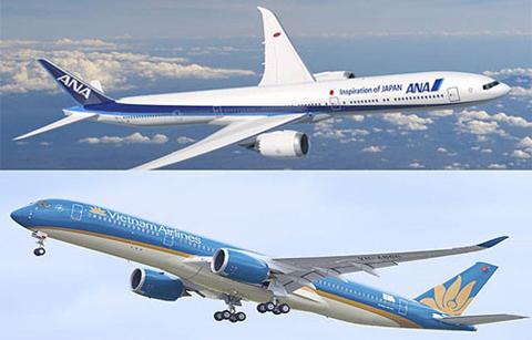 Vietnam Airlines và hãng hàng không Nhật liên doanh trên 10 đường bay quốc tế