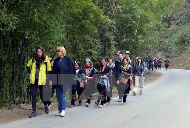 Lượng khách du lịch đến Sa Pa trong dịp nghỉ lễ tăng 45%