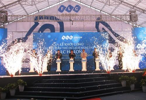 3.400 tỷ xây dựng quần thể du lịch nghỉ dưỡng FLC Hạ Long