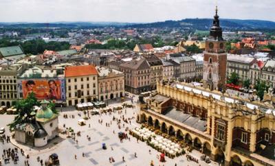 Có một thành phố Krakow Ban Lan xinh đẹp quyến rũ