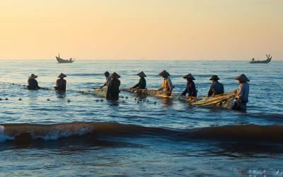 Đến Nam Định để cảm nhận sức hút yên bình trên vùng biển