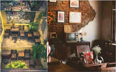 Quay ngược về quá khứ với những quán cà phê cổ Hà Nội