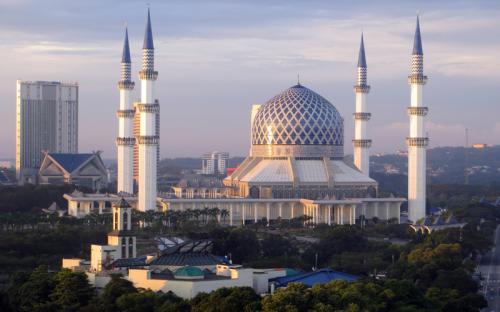 Khám phá kiến trúc ấn tượng của thánh đường Hồi Giáo Malaysia