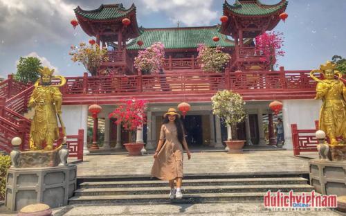 """Check in """"tiểu Nhật Bản"""" tại Chùa Lầu Tịnh Biên"""