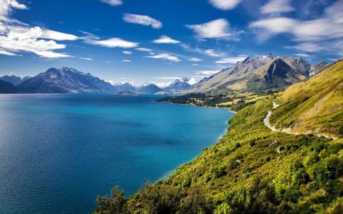 Mê mẩn trước những phong cảnh thiên nhiên tuyệt vời ở New Zealand