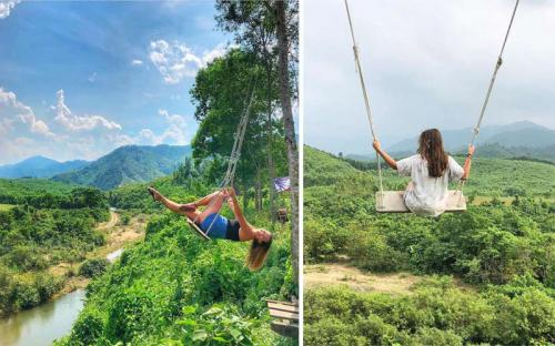 Chẳng cần đến Bali, ở Việt Nam vẫn có thể check-in 'xích đu tử thần'