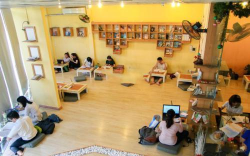 """Tự do làm """"con mọt"""" ở 5 quán cà phê sách đẹp nhất Đà Nẵng"""