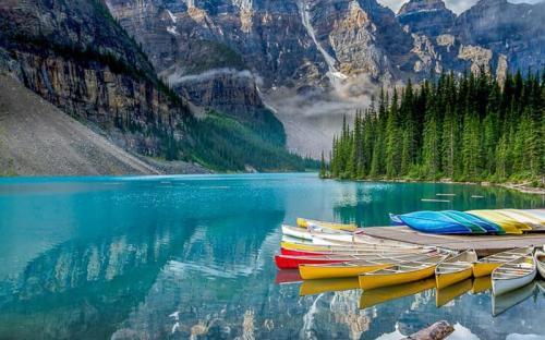 15 hồ nước đẹp đến khó tin ở Canada (p2)